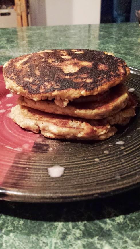 Banana Walnut Pancakes [Vegan/Gluten Free]